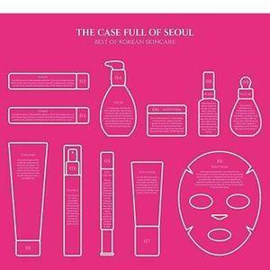 The Case Full of Seoul Best Korean Skincare NWT